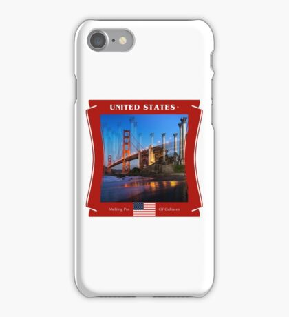 United States - Melting Pot Of Cultures iPhone Case/Skin