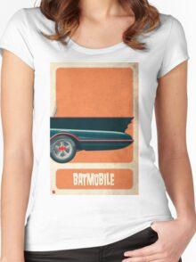 Batmobile 66 part III of III Women's Fitted Scoop T-Shirt