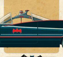 Batmobile 66 part II of III by Staermose