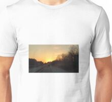 Driving into the sun Unisex T-Shirt