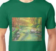 Peaceful River Scene Unisex T-Shirt