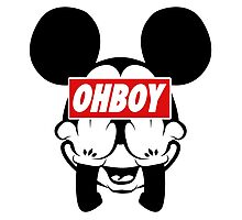 Ohboy Photographic Print