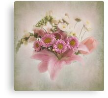A Spring Bouquet Canvas Print