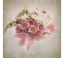 A Spring Bouquet Photographic Print