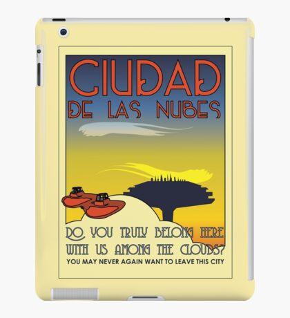 Ciudad De Las Nubes -  T-shirt and Poster iPad Case/Skin