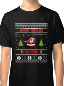 """Dabbin' Through The Snow """"Ugly Christmas Sweater"""" Classic T-Shirt"""