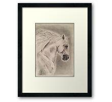 Artistic Running Horse Framed Print