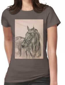 Bridled Horse Womens Fitted T-Shirt