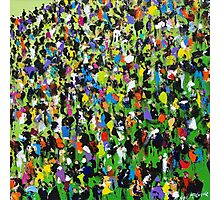 Race Meeting by Neil McBride Photographic Print