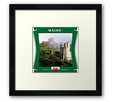 Wales - Country Of The Cymry Framed Print