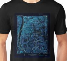 USGS TOPO Map Arkansas AR Bethesda 259937 1942 31680 Inverted Unisex T-Shirt