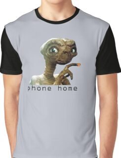 Phone Home Graphic T-Shirt