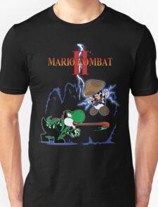 MARIO KOMBAT II yoshi vs. toad Unisex T-Shirt