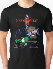 MARIO KOMBAT II yoshi vs. toad T-Shirt