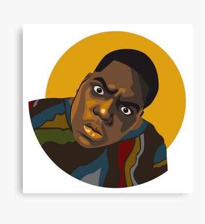Notorious B.I.G. Illustration Canvas Print