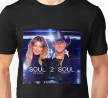 TIM MCGRAW - FAITH HILL SOUL 2 SOUL THE WORLD TOUR 2017 Unisex T-Shirt