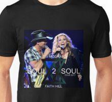 TIM MCGRAW - FAITH HILL SOUL 2 SOUL WORLD TOUR 2017 Unisex T-Shirt
