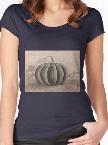 Pumpkin Women's Fitted Scoop T-Shirt