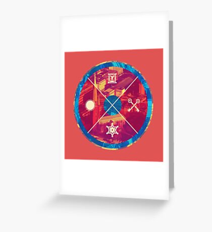Primary Circles Greeting Card