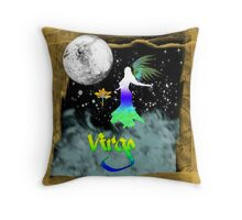 Virgo - Astrology Sign Throw Pillow