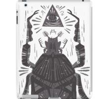 All Seeing Eye - Beetle One - grey iPad Case/Skin