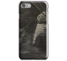 Black and White Windmill iPhone Case/Skin