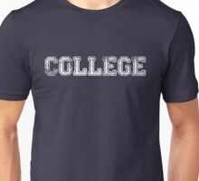 College Unisex T-Shirt