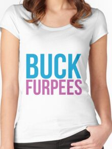 Buck furpees Women's Fitted Scoop T-Shirt