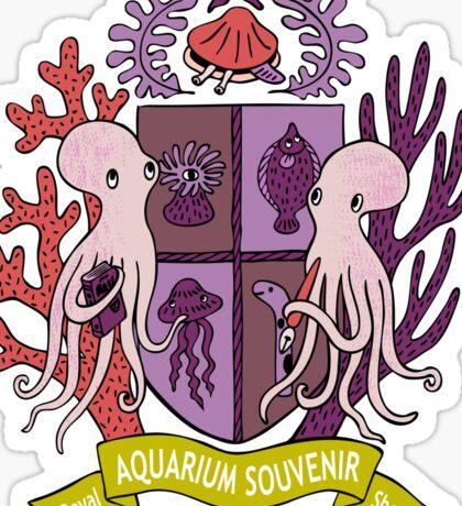 The Royal Aquarium Souvenir Shop Sticker