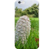 Fungi In The Grass iPhone Case/Skin