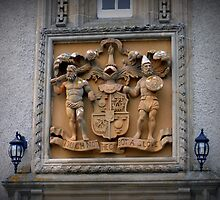 Coat of Arms & Family Crest , Ballindalloch Castle by Bill Lighterness