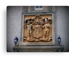 Coat of Arms & Family Crest , Ballindalloch Castle Canvas Print