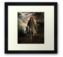 The Highlander Framed Print