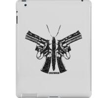 BUTTERFLY GUNS iPad Case/Skin