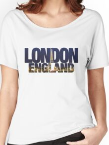 London - Wrong Skyline Women's Relaxed Fit T-Shirt