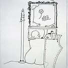 Petits Dessins Debiles - Small Weak Drawings#37 by Pascale Baud