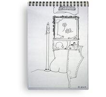 Petits Dessins Debiles - Small Weak Drawings#37 Canvas Print