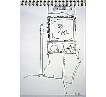 Petits Dessins Debiles - Small Weak Drawings#37 Photographic Print