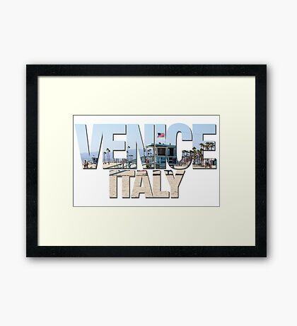 Venice - Wrong Skyline Framed Print