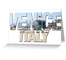 Venice - Wrong Skyline Greeting Card
