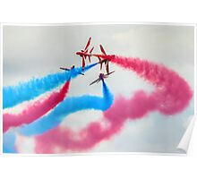 The Red Arrows Gypo Break 2 - Dunsfold 2014 Poster