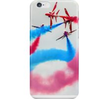 The Red Arrows Gypo Break 2 - Dunsfold 2014 iPhone Case/Skin