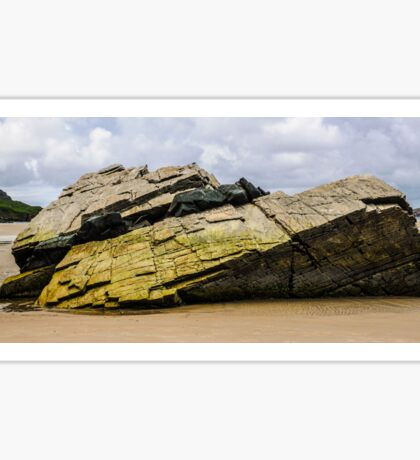 Rocks of Maghera Beach - Ireland #1 Sticker