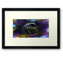 C-beams Glittering in the Dark Near the Tannhauser Gate Framed Print
