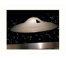 Lost in Space Spaceship Art Print
