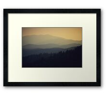 Great Smoky Mountains National Park Framed Print