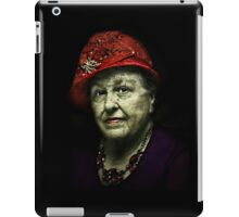 The Lady in the Red Hat iPad Case/Skin