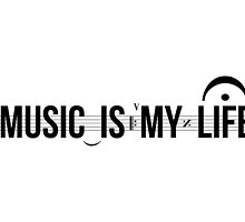 Music Is My Life! by ak4e