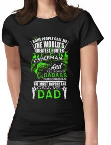 FISHING DAD 2 Womens Fitted T-Shirt