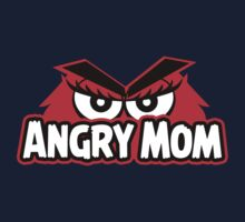 Angry Mom Kids Tee